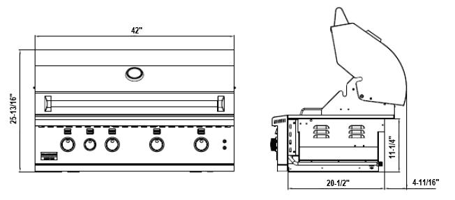 Broilmaster BSG424N 42-in