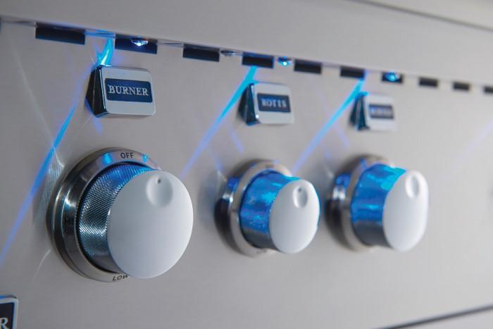 Broilmaster Control knob lights