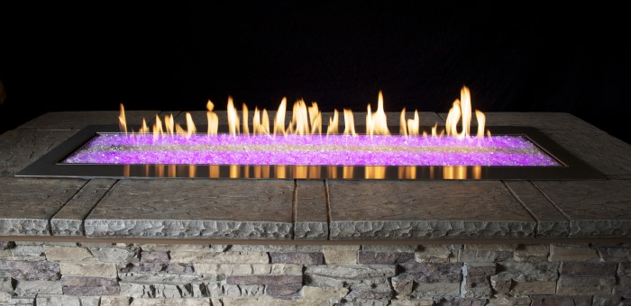 Empire OL60TP-Fire-Pit-Pink-LED