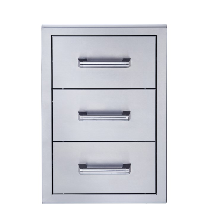 Broilmaster BSAW1826T 18x26 triple drawer