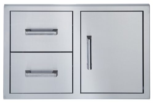 Broilmaster BSAW3422SD 34x22 single door double drawer