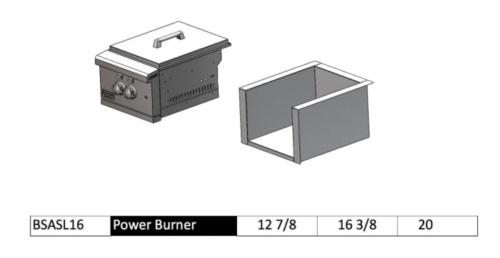 Broilmaster BSASL16 Insulated Sleeve