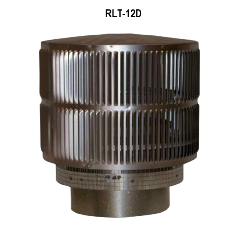 Superior Fireplaces RLT-12D Round Top Termination