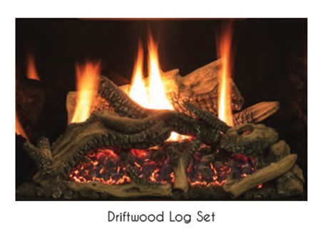 EMPIRE Driftwood Log Set