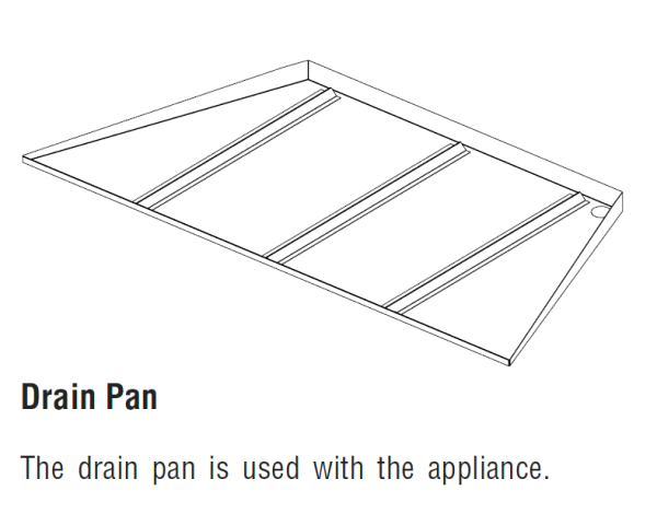 Superior DPSS36 Drain Pan