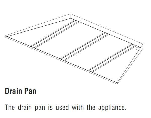 Superior DPSS42 Drain Pan