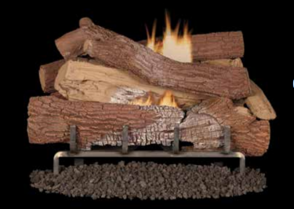 Superior Fireplaces Giant Timbers Concrete logs OD