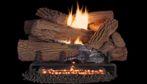 Superior Fireplaces MOSSY OAK Concrete logs