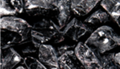 Superior Fireplaces Onyx Black Ice Rock
