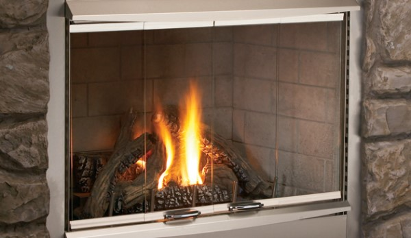 Superior Fireplaces VRE4300 Bi-Fold Glass Doors